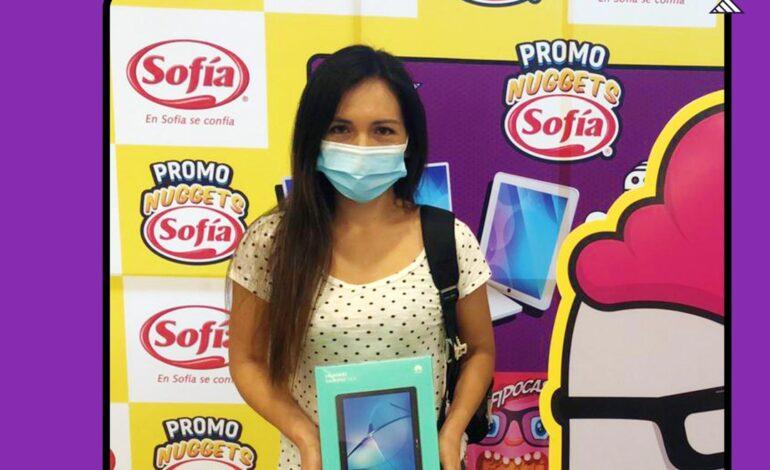 28 personas se beneficiarán de Laptops y Tablets gracias a la promo Nuggets de Sofía