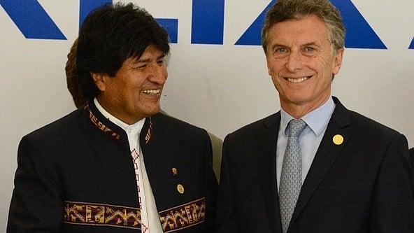 Evo pide que Macri sea juzgado por «envío de materiales» y habla de «extradición»