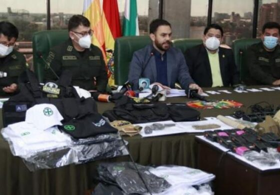 """Aprehenden a siete personas que portaban armas y Del Castillo denuncia """"grupos irregulares"""""""