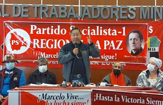 Presidente Arce recuerda al líder socialista Marcelo Quiroga Santa Cruz, a 41 años de su asesinato