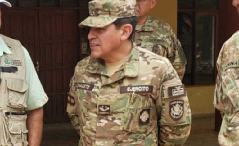Envían a la cárcel de San Pedro al general Inchauste por el caso Senkata