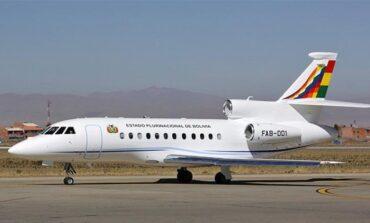 Diputada denuncia vuelo irregular del avión presidencial hacia Chimoré