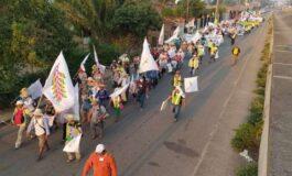 Marcha exige que Arce asista al parlamento indígena convocado para este jueves