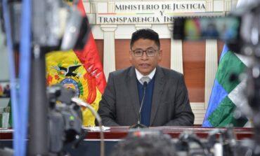 El Gobierno descarta tratar durante la gestión de Arce otro proyecto de ley 'antilegitimación'